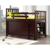 Found it at Wayfair - Ian Twin Loft Bed with 6-Drawer Double Dresser and Bookcase