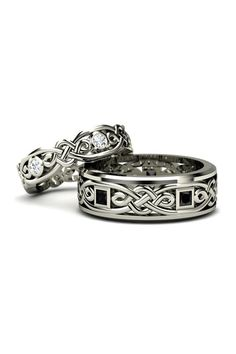 Tribal wedding bands don't just look amazing, but create a striking impact on any and everyone who set their eyes on.