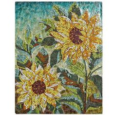 Sunflowers Wall Panel