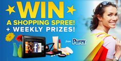 Enter to Win with More Time for Mom Purex Sweepstakes!