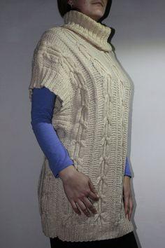 Женский жилет