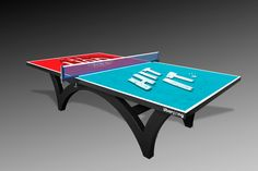 Design your own custom ping pong table in 30 seconds or less using photos, logos and more. Create your own custom ping pong table by Uberpong now. Ping Pong Table Tennis, Ping Pong Paddles, Home Entertainment, Table Games, Custom Tables, Eye, Mesas, Board Games, Tabletop Games