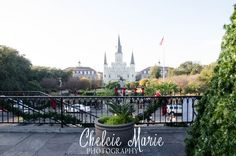 Across the street from Jackson Square