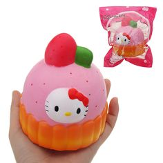 Novelty & Gag Toys Puffs Squishyed Toy 8*10 Cm Slow Rising With Packaging Collection Gift Soft Squishying Toys Novelty Gags For Kids Childern Warm And Windproof