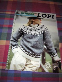 Reyonlds Lopi Icelandic Sweater patterns 20 designs Sweater Cap Cardigan Mitten
