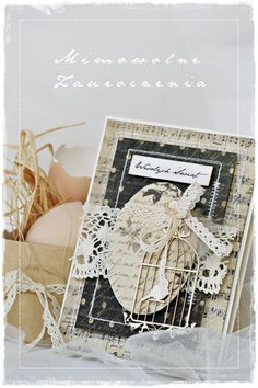 Z wycinanką Anemone Easter Wishes, Easter Card, Scrapbook Layouts, Scrapbooking, Butterfly Cards, Card Making Inspiration, Big Shot, Card Ideas, Birthday Cards