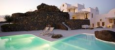 Aenaon villas is situated at the highest and narrowest part of Santorini, right on the edge of the world-famous caldera, and it is open to a...