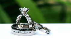Canadian diamonds are all ethically mined, cut and polished. All of these diamonds have a serial number laser inscribed on the girdle. Engagement Ring Settings, Diamond Engagement Rings, Canadian Diamonds, Wedding Bands, Wedding Ring, Princess Cut, Plating, Women Jewelry, White Gold