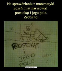 – prostokąt i jego pole Polish Memes, Funny Mems, Keep Smiling, More Than Words, How To Train Your Dragon, Wtf Funny, Read News, Best Memes, Life Lessons