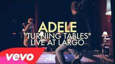 #Adele gives a nice performance of Turning Tables. #Vevo #Music @VEVO @LargoLosAngeles