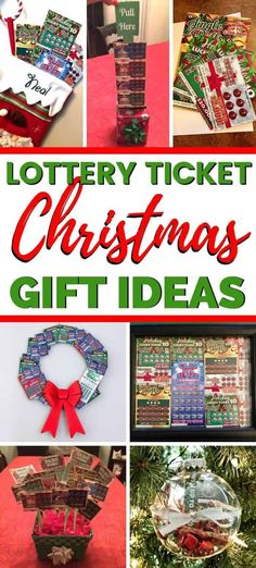Easy DIY lottery ticket gift ideas! 7 clever ideas on how to give lottery tickets as gifts this Christmas! #DIYgifts #lotteryticket #homemadegifts #christmasgifts #christmasgiftideas #diygiftideas #diychristmasgifts
