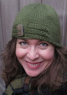 Double Double Cloche - another chemo hat (free pattern at the link.)