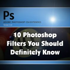 10 Photoshop Filters...