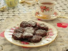 SPLENDID LOW-CARBING          BY JENNIFER ELOFF: Chocolate Coconut Cookies - Gluten Free -  Happy V...