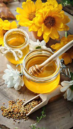 Honey Glace Fruit, Natural Honey, Raw Honey, Tasty, Yummy Food, Honey Recipes, Mellow Yellow, Food Styling, Food Art