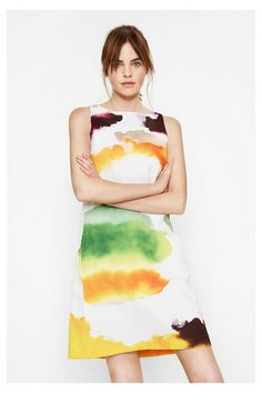 Desigual watercolor dress  159.95 Watercolor Dress d881a704cf0
