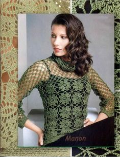 Crochet top. Written in Russian on a Spanish site so do not have access to the instructions.