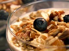 Homemade Granola recipe from Patrick and Gina Neely via Food Network