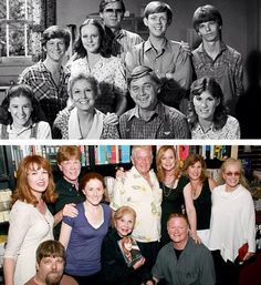 ''The Waltons'' Updated Photo Earl Hamner in the First Photo. Richard Thomas: Not here. Mary McDonough at Book Store Signing The Waltons Tv Show, Ralph Waite, Richard Thomas, John Boy, Cinema Tv, Celebrities Then And Now, Old Shows, Great Tv Shows, Kids Tv