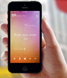 Booking Room by Karthick Nagarajan, via Behance