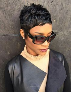 Look Over This A pixie hairstyle from Atlants's Like the River Salon  The post  A pixie hairstyle from Atlants's Like the River Salon…  appeared first on  Haircuts and Hairstyles 2018 .