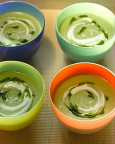 Avocado Soup Ingredients: • 2 ripe peeled avocados • 1 ½ cups vegetable broth • 1 (4-ounce) can or jar chopped green chiles • ½ cup whole milk • 1 tablespoon lime juice • ¾ teaspoon salt • ¼...