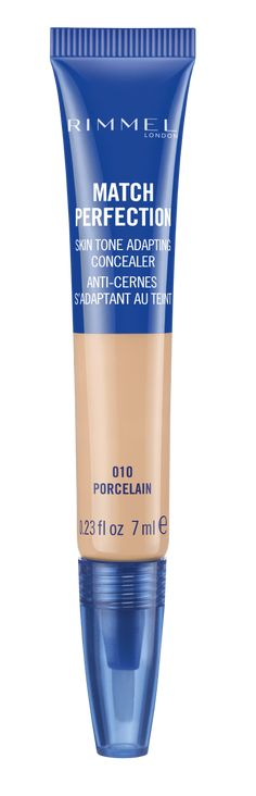 Get an under eye concealer that does it all. Rimmel London Match Perfection Concealer covers blemishes, dark circles and imperfections for a FLAWLESS base. Rimmel London Match Perfection, Concealer, Cleaning Supplies, Porcelain, Soap, Bottle, Face, Dark Around Eyes, Porcelain Ceramics