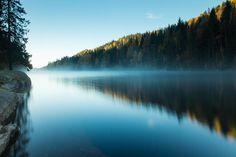 Morning mist by Jørgen Kåsine Bryni on 500px