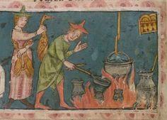 Jansen Enikel, Jans: Jansen Enikels Weltchronik 14. Jh Cgm 11  Folio 50v