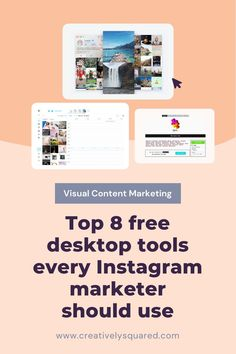 We have compiled a list of the best free desktop apps for streamlining your Instagram marketing and getting the best out of this platform Free Instagram, Instagram Tips, How To Use Hashtags, Shoppable Instagram, Instagram Schedule, How To Get Followers, Instagram Marketing Tips, Cool Writing, Content Marketing