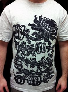 Tshirt-Factory BlogHand Carved Woodblock Printed T-Shirts