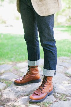 Redwing Boots for the Groom. The Dent House, Ojai, CA. Photography by Montana Dennis //http://montanadennis.com/