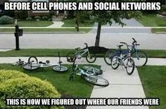 The good old days!