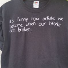 Tumblr Shirt, stitched Quote Artistic from SpacyShirts on Etsy
