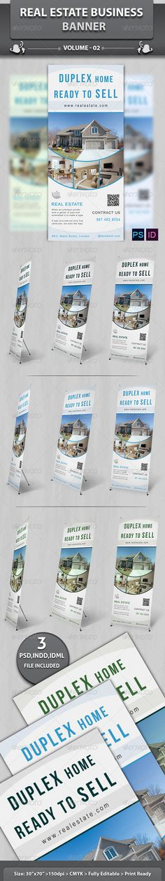 Real Estate Business Banner | Volume 3