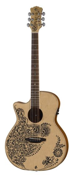 Henna Oasis Lefty Acoustic / electric guitar for left handed people Lefty Guitars, Left Handed People, Film Music Books, Cool Guitar, Acoustic Guitar, Musical Instruments, Oasis, Henna, Electric