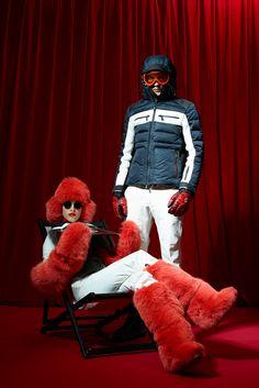 Moncler Grenoble Fall 2015 Ready-to-Wear Fashion Show Ski Fashion, Winter Fashion, Fashion Show, Fashion Design, Fur Accessories, Apres Ski, Fur Boots, Silhouette, Fall Winter 2015