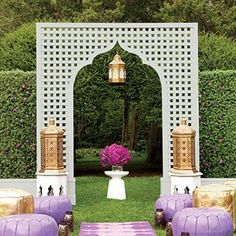 Love the style of Marrakech but don't want a destination wedding? Here's how to bring Moroccan details to your space.