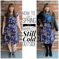 Do you have Spring Fever? I already bought my first light, pretty, flowered dress but It's still too cold outside to wear it. That's not going to stop me!