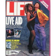 Life Magazine, September 1, 1985 - Mick Jagger And Tina Turner. $16.95 USD Only 1 available