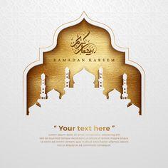 Eid Adha Mubarak, Eid Al Adha, Muslim Wedding Cards, Muslim Wedding Invitations, Wallpaper Ramadhan, Ramadan Kareem Pictures, Motif Arabesque, Ramadan Poster, Islamic Wallpaper Hd