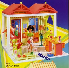 LEGO Scala Marita Butik (I used to wish to have this one!)