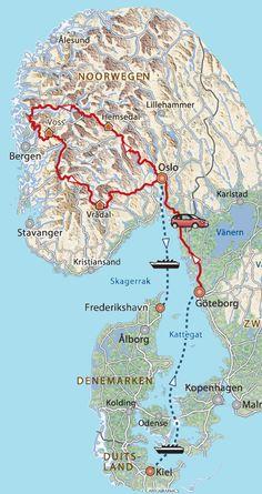 Afwisselend Noorwegen