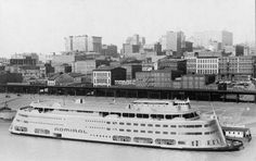 S.S. Admiral - St. Louis, Missouri. Yearly Dance Recitals...I spent many, many years of my youth on the S.S. Admiral.....SO COOL