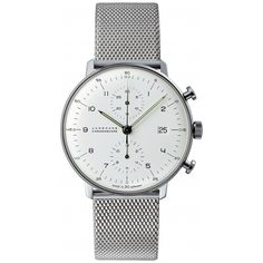 Amazon.com: Junghans Watch - Max Bill - Chronoscape - Milanese: Clothing