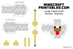 Fan di Minecraft? Stampa e costruisci i personaggi 3D! | Creare con la carta ♥
