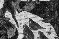 The Gilded Fox - Catherine Rowe Illustration