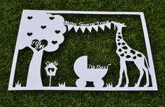 New Baby SVG / JPEG Cutting File Personalise Yourself