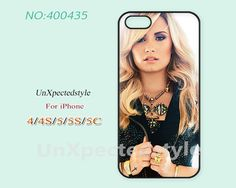 Demi lovato, Phone Cases, iPhone 5/5S Case, iPhone 5C Case, iPhone 4/4S Case, demi lovato, Phone covers, Skins, Case for iPhone-400435