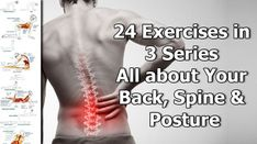Welcome to our 3 series of exercises aimed at healing and improving the function of your back, spine and core muscles and commonly used joints. We have 24 exercises based on Pilates and yoga that can help you get rid of discomfort in your back and bring you to your optimal posture. Readers with limited …